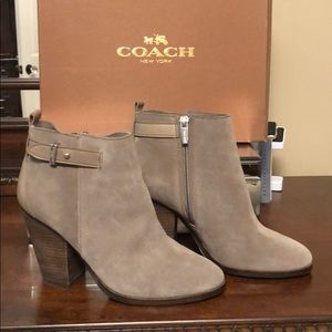 Coach Ankle Boots Size 7 Hewes GR